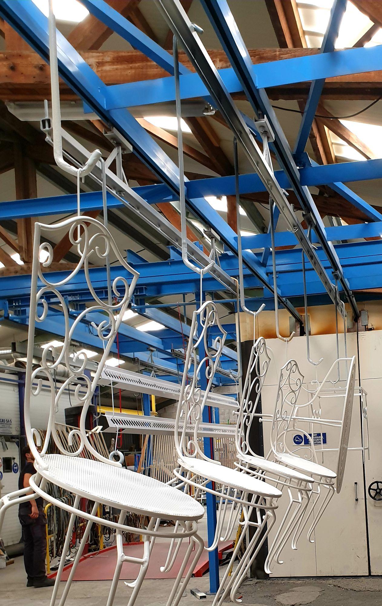 Rénovation de mobilier extérieur Niort, La Rochelle, Fontenay le Comte