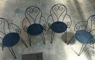 Rénovation de mobilier extérieur en métal 79, 17, 85