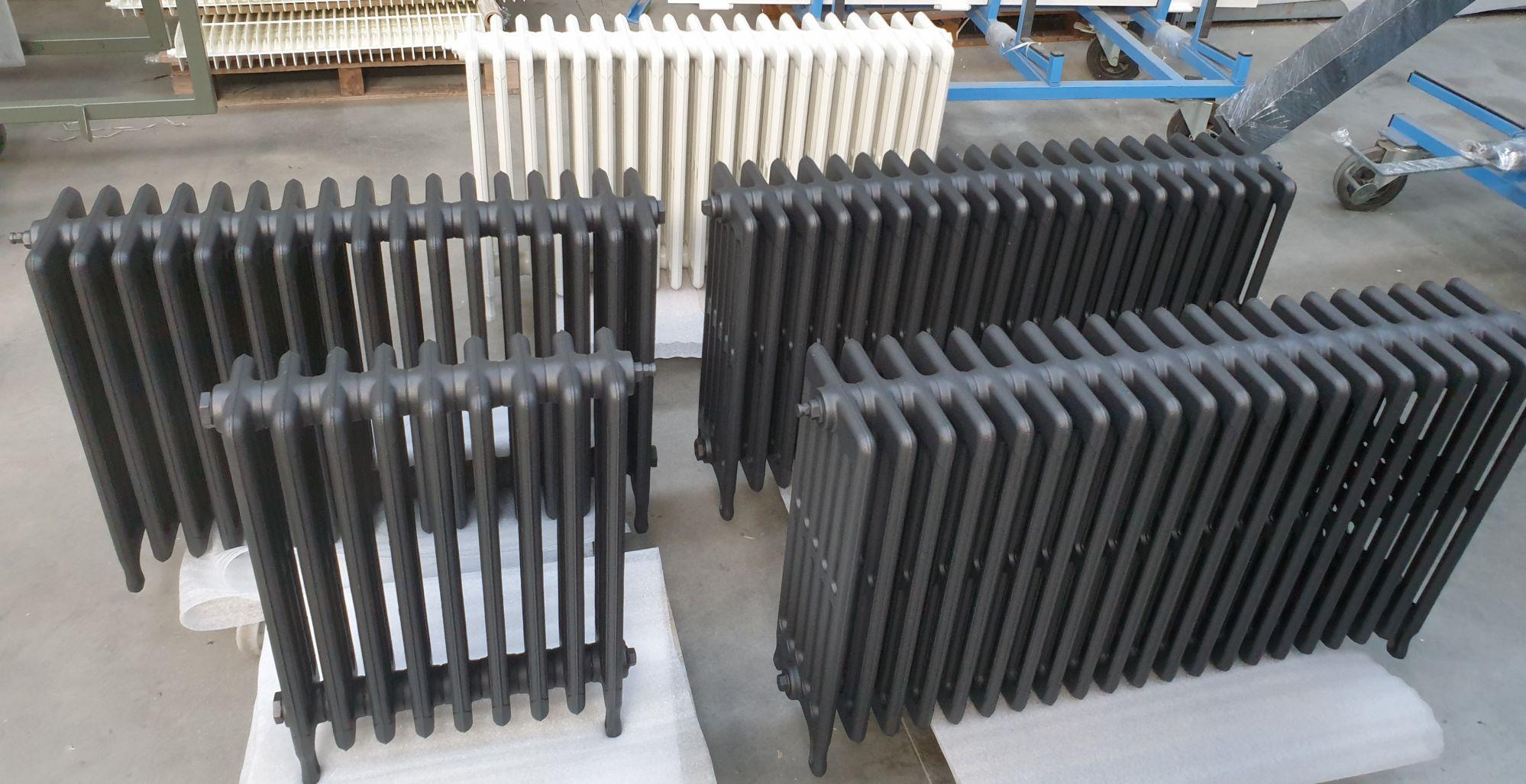 Rénovation et restauration de radiateur et décoration - métallisation 79, 85, 17