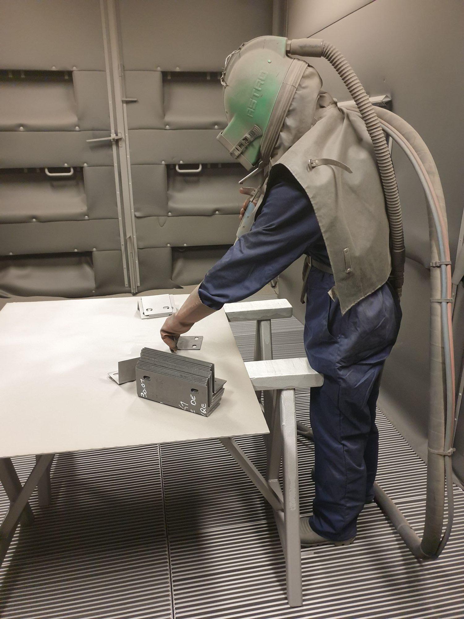 Décapage par sablage - rénovation métal 79, 85,17