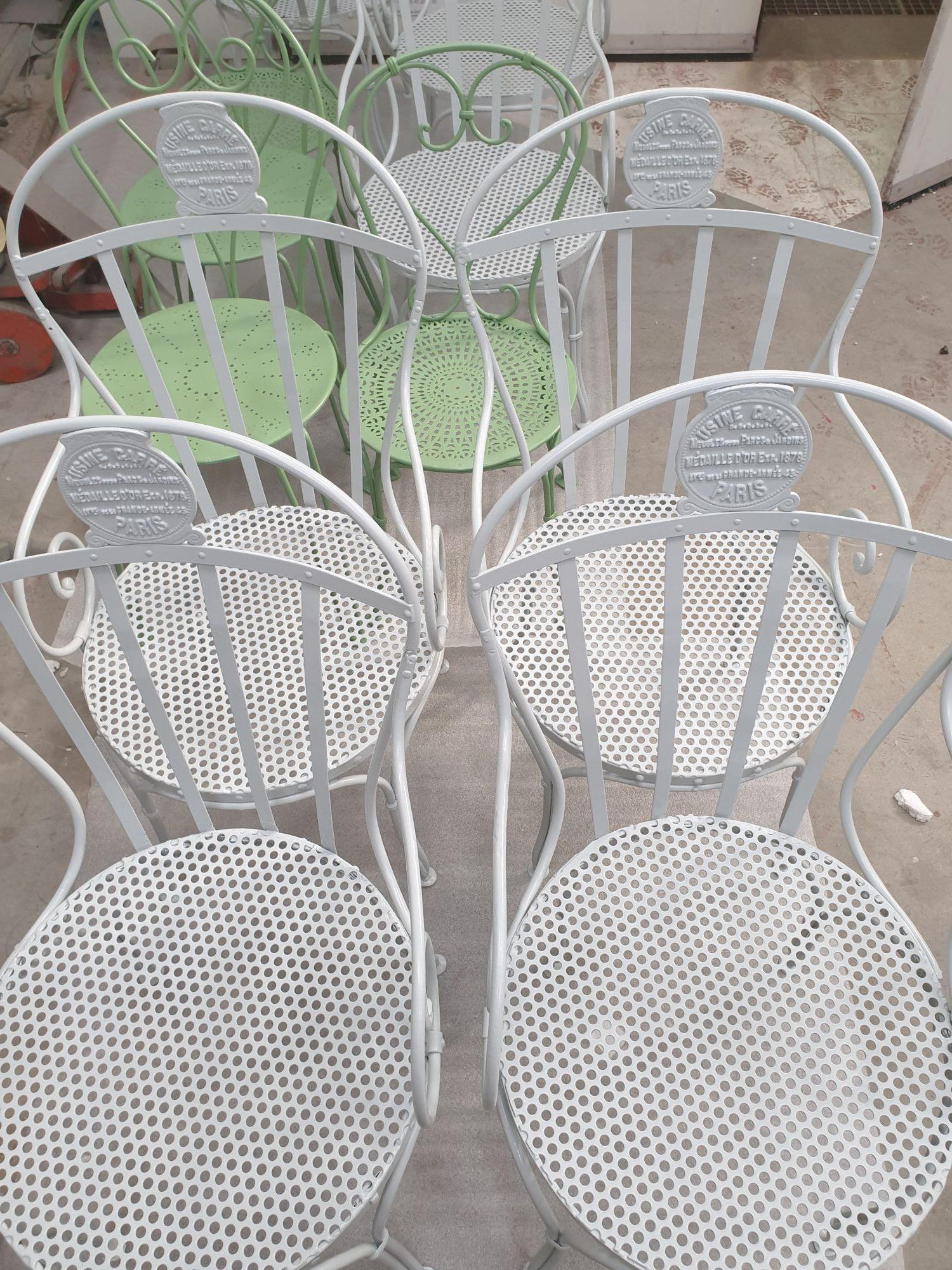 Restauration de mobilier extérieur en métal 79, 17, 85