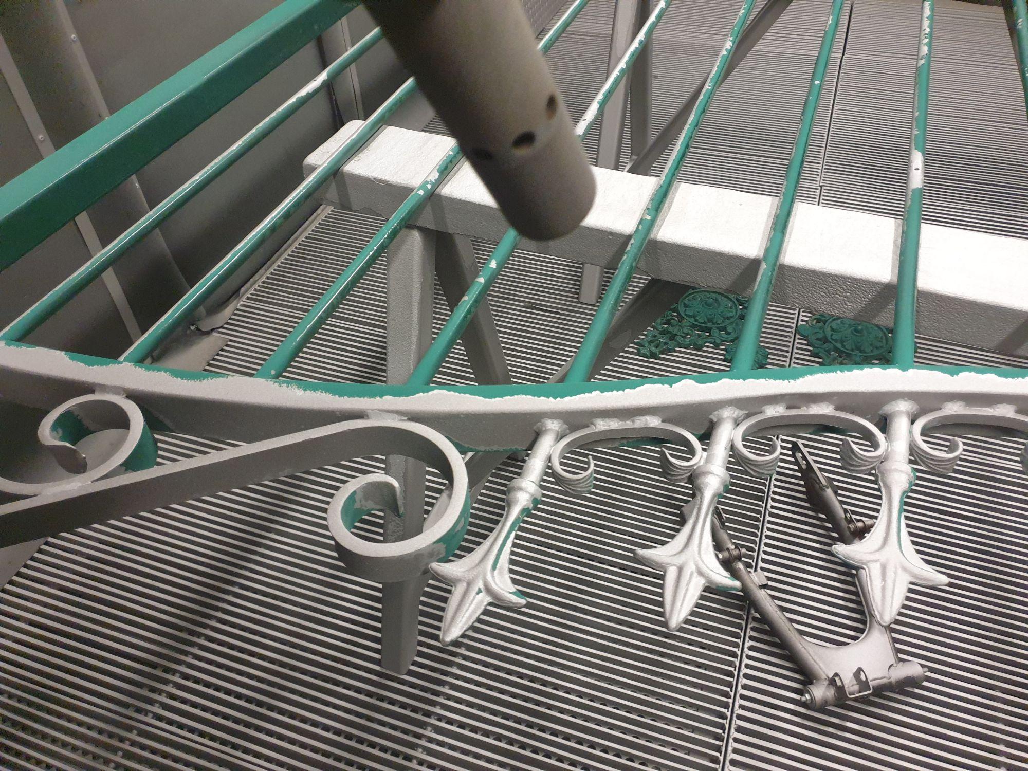 Décapage par sablage avant métallisation - rénovation métal 79, 85,17